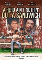 Cover image for A hero ain't nothin' but a sandwich