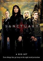 Cover image for Sanctuary. Season 1, Disc 1
