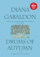 Cover image for Drums of autumn. bk. 4 [sound recording CD] : Part 2, discs 21-39. Outlander series
