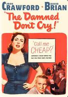 Cover image for The damned don't cry!