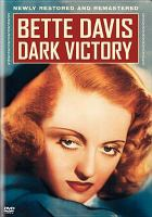 Cover image for Dark victory [videorecording DVD]