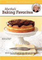 Cover image for Martha's baking favorites