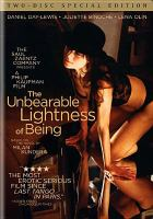 Cover image for The unbearable lightness of being