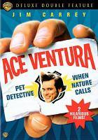 Cover image for Ace Ventura, pet detective [videorecording DVD] (Jim Carrey version)