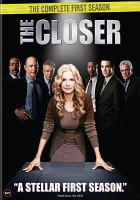 Cover image for The closer. Season 1, Complete