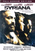 Cover image for Syriana