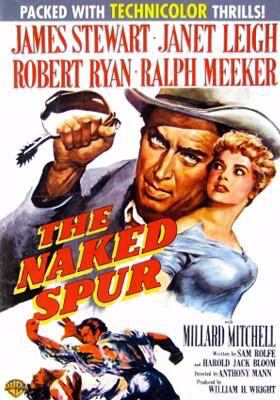 Cover image for The naked spur [videorecording DVD]