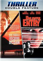 Cover image for Executive decision Unlawful entry