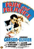 Cover image for Pride and prejudice (Greer Garson version)