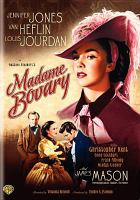 Cover image for Madame Bovary [videorecording DVD] (Jennifer Jones version)