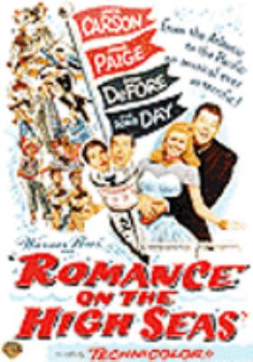 Cover image for Romance on the high seas