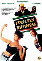 Cover image for Strictly business