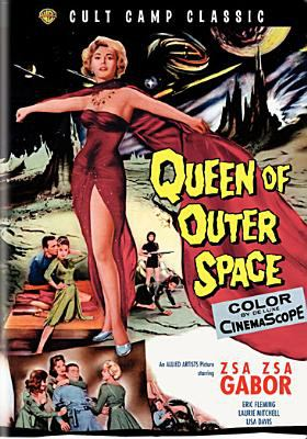 Cover image for Queen of outer space