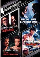 Cover image for Sylvester Stallone collection 4 film favorites