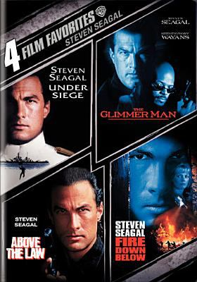 Cover image for 4 film favorites [videorecording DVD] : Under siege ; The glimmer man ; Above the law ; Fire down below.