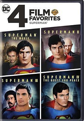 Cover image for Superman 4 film favorites.