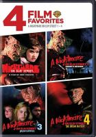 Cover image for A nightmare on Elm Street [videorecording DVD] : A nightmare on Elm Street 1-4