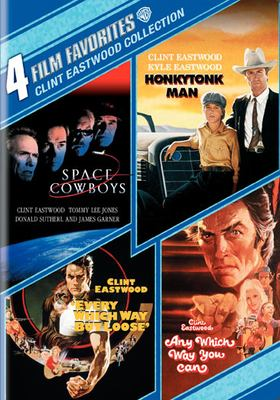 Cover image for Space cowboys [videorecording DVD] ; Honkytonk man ; Every which way but loose' ; Any which way you can