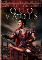 Cover image for Quo vadis [videorecording DVD] (Robert Taylor version)