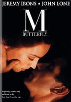 Cover image for M. Butterfly