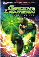 Cover image for Green lantern. First flight