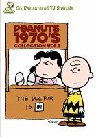 Cover image for Peanuts 1970's collection. Vol. 1 [videorecording DVD]