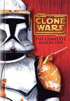Cover image for Star Wars, the Clone wars. Season 1, Complete
