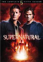 Cover image for Supernatural. Season 05, Disc 1
