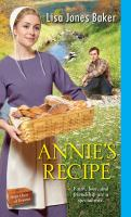 Cover image for Annie's recipe Hope Chest of Dreams Series, Book 2.