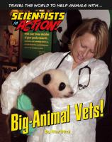 Cover image for Big-animal vets