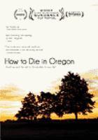 Imagen de portada para How to die in Oregon
