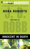 Cover image for Innocent in death. bk. 24 In death series