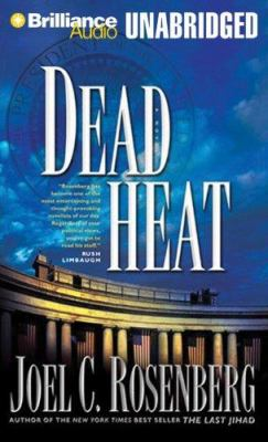 Cover image for Dead heat. bk. 5 Political thrillers series