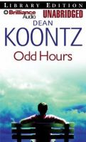 Cover image for Odd hours. bk. 4 Odd Thomas series