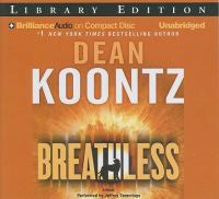 Cover image for Breathless a novel