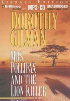 Imagen de portada para Mrs. Pollifax and the lion killer. bk. 12