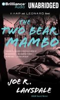 Cover image for The two-bear mambo. bk. 3 Hap and Leonard series
