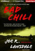 Cover image for Bad chili. bk. 4 Hap and Leonard series