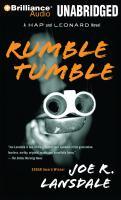 Cover image for Rumble tumble. bk. 5 Hap and Leonard series