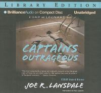 Cover image for Captains outrageous. bk. 6 Hap and Leonard series