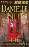 Imagen de portada para 44 Charles Street a novel