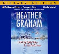 Cover image for Home in time for Christmas [sound recording CD]