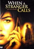 Cover image for When a stranger calls