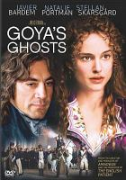 Cover image for Goya's ghosts