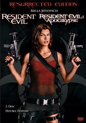 Cover image for Resident evil ; and Resident evil apocalypse