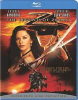 Cover image for The legend of Zorro [videorecording Blu-ray]
