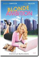 Cover image for Blonde ambition
