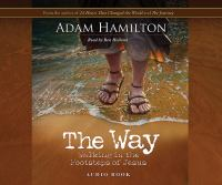 Cover image for The way walking in the footsteps of Jesus