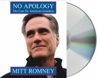 Cover image for No apology the case for American greatness
