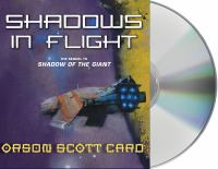 Cover image for Shadows in flight. bk. 5 Shadow Saga series